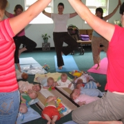 Mum & Babies Yoga Summer 06